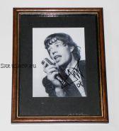 Автографы: Мик Джаггер. The Rolling Stones