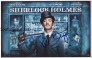Автограф: Джуд Лоу. Шерлок Холмс